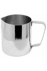 Cana din inox latiera pentru spumare cu maner cana de lapte sau cappucino cu cioc cana pentru bar cana barista 500 ml h 10.5 cm Fackelmann