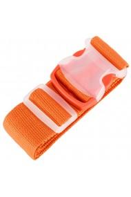 Curea de siguranta pentru bagaje centura reglabila pentru valize Magic 170 x 5 cm portocaliu