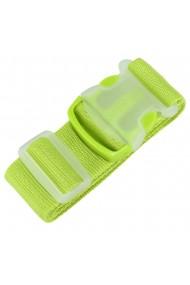 Curea de siguranta pentru bagaje centura reglabila pentru valize Magic 170 x 5 cm verde
