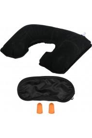 Kit calatorie 3 piese trusa relaxare voiaj cu perna gonflabila protectie lumina ochi dopuri de urechi Bright Line