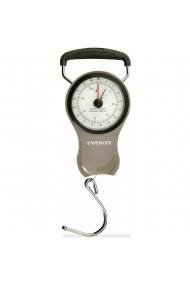 Cantar portabil Wenger maximum 37 kg cu carlig si ruleta 100 cm cantar bagaje metal/plastic gri-negru