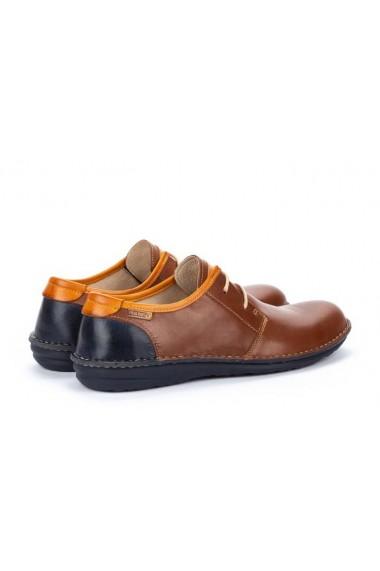 Pantofi casual barbatesti din piele naturala maro Pikolinos Santiago M8M