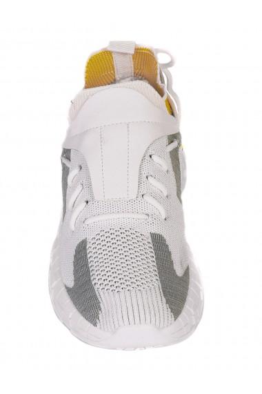 Pantofi sport barbatesti albi Paolo Botticelli 7U-21060
