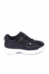 Pantofi sport copii Paolo Botticelli 18U-19133 negru