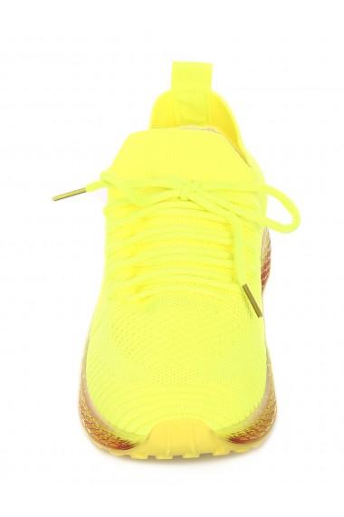Pantofi sport dama din material textil Paolo Botticelli 20004