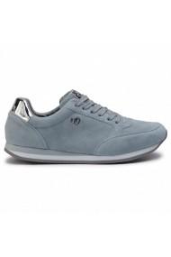 Pantofi sport dama din piele naturala S. Oliver 23630 blue