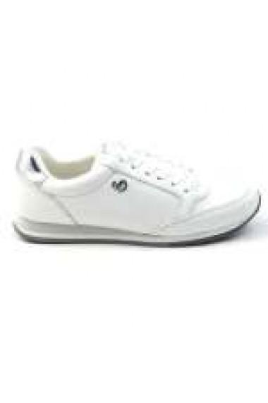 Pantofi sport dama din piele naturala alba S. Oliver 5-23630-24