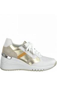 Pantofi sport dama din piele naturala Marco Tozzi 2-23765-26