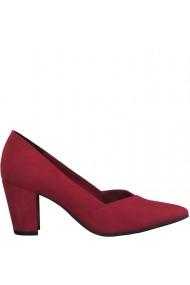 Pantofi eleganti dama culoare rosu bordeaux Marco Tozzi 2-22438-25