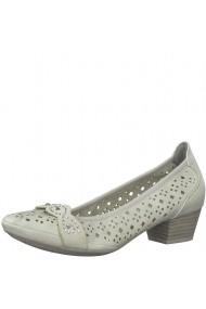 Pantofi dama model perforat Marco Tozzi 2-22505-26 119 Ice Comb