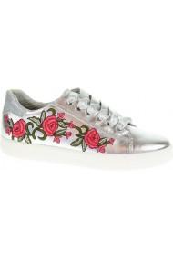 Pantofi sport dama cu broderie florala Marco Tozzi 23776