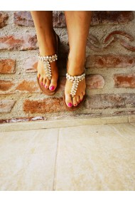 Sandale casual dama din piele naturala Marco Tozzi 2-28188-26