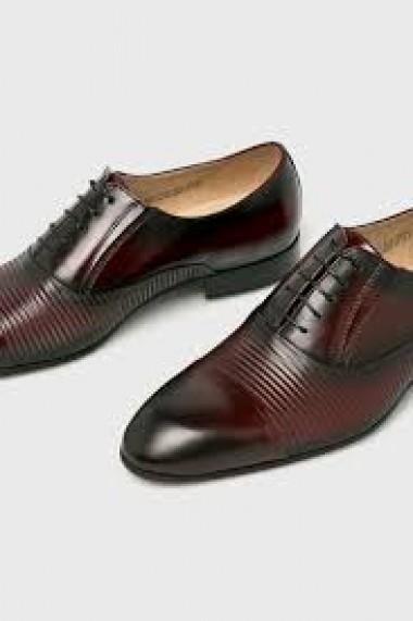 Pantofi eleganti barbatesti din piele naturala Conhpol 7804