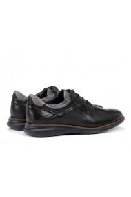 Pantofi sport barbati casual Fluchos Habana F0235 piele naturala negru grafit marin