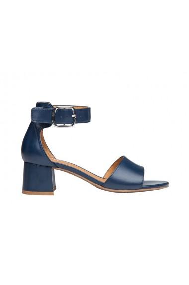 Sandale dama din piele naturala albastra Regarde le Ciel