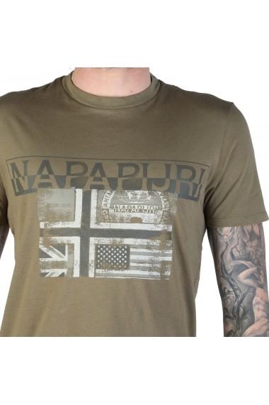 Tricou Napapijri SAWY_N0YIJEGD6 Verde
