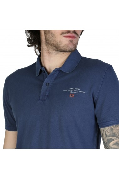 Tricou Napapijri ELBAS-2_N0YIJ5BD1 Albastru