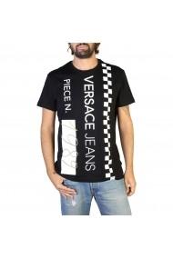 Tricou Versace Jeans B3GTB74B_36590_899 Negru