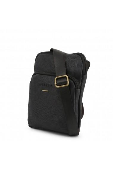 Geanta Carrera Jeans NEW-UNDERGROUND_CB1422_BLACK Negru