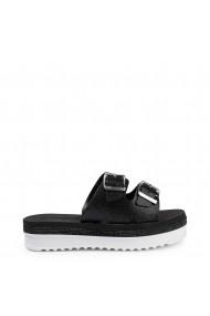 Papuci Laura Biagiotti 6375_GLITTER_BLACK