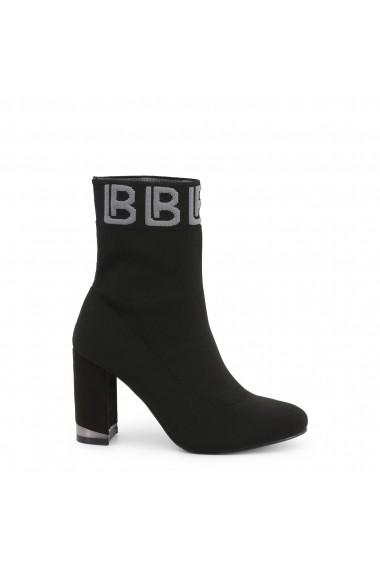 Botine Laura Biagiotti 5789-19_BLACK Negru