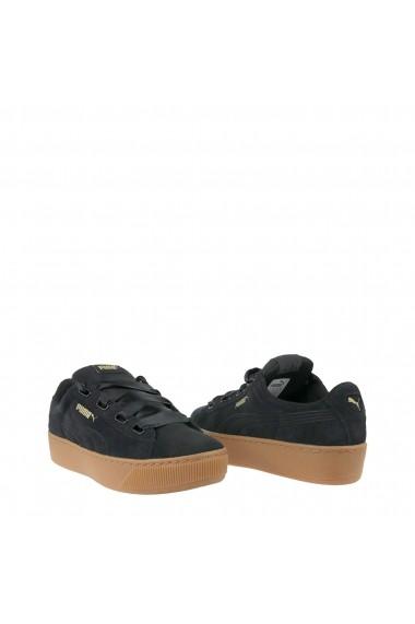Pantofi sport Puma Vikky_Platform_Ribbon-364979-01 Negru - els