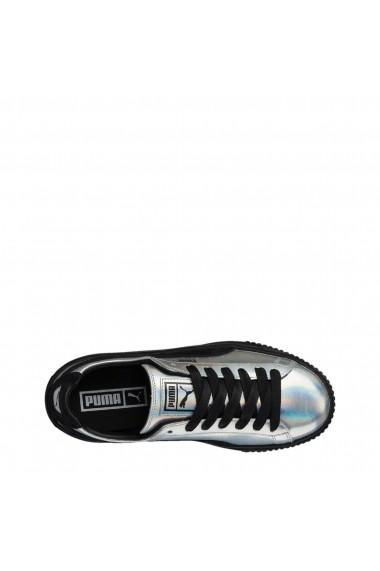 Pantofi sport Puma Basket_Platform-363627-01 Auriu