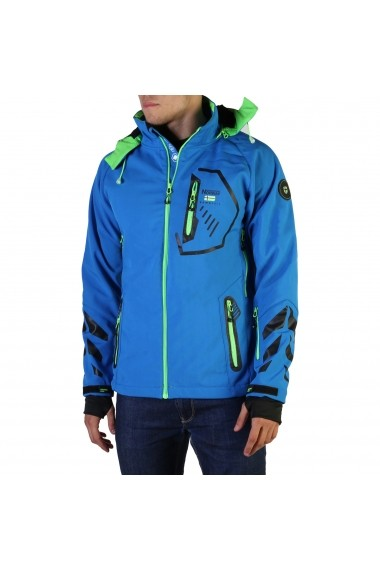 Jacheta Geographical Norway Tranco_man_blue-green Albastru