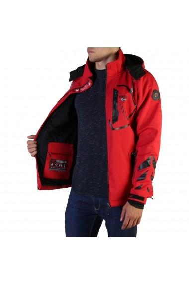 Jacheta Geographical Norway Tranco_man_red-black Rosu