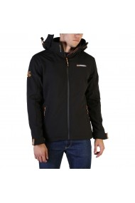 Jacheta Geographical Norway Takeaway_man_black Negru - els