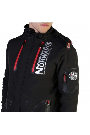 Jacheta Geographical Norway Tyreek_man_black Negru