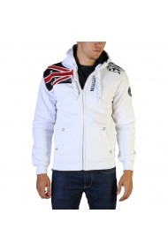 Pulover Geographical Norway Gatsby100_man_white Alb