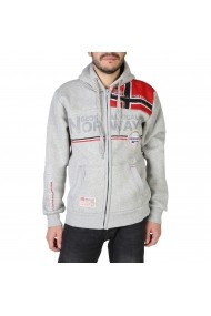 Pulover Geographical Norway Faponie100BS_man_blendedgrey Gri
