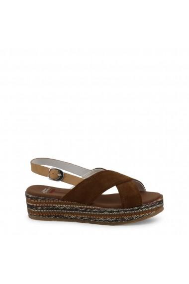 Sandale plate U.S. Polo ASSN. JENNA4081S9 S1 BRW Maro