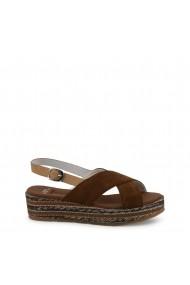 Sandale cu toc U.S. Polo ASSN. JENNA4081S9_S1_BRW Maro