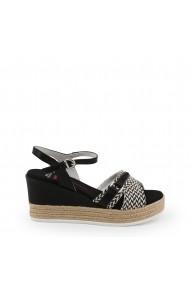 Sandale cu toc U.S. Polo ASSN. DONET4175S9_TY1_BLK Negru