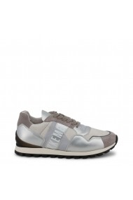 Pantofi sport Bikkembergs FEND-ER_2376_SILVER-GREY Alb