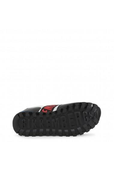 Pantofi sport Bikkembergs FEND-ER_2232_SILVER-BLACK Gri