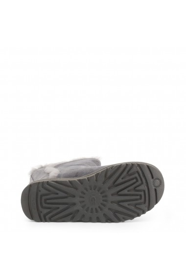 Ghete Ugg FLUFF_HIGH-LOW_1103746_CHARCOAL Gri