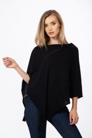 Poncho Be You 0834 Negru