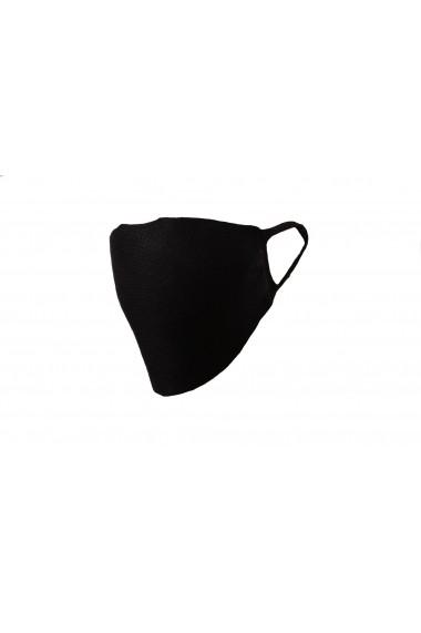 Masca de protectie tricotata, neagra, Be You