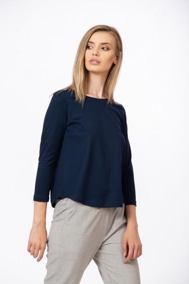 Bluza bleumarin cu maneca lunga Be You