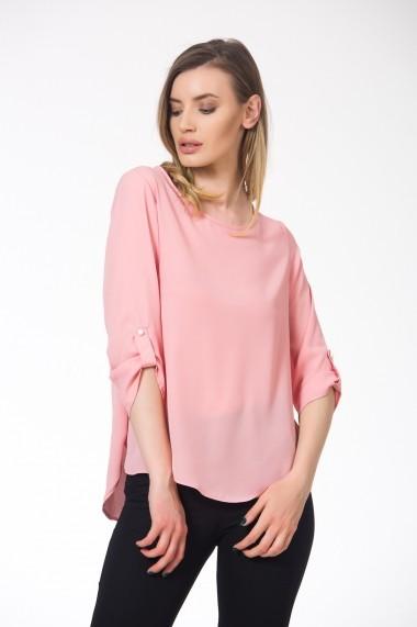 Bluza roz pal cu maneci 3/4 Be You