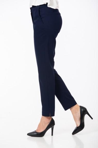 Pantaloni drepti Be You 3331 Bleumarin