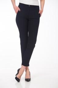 Pantaloni drepti negri stretch cu buzunare laterale Be You