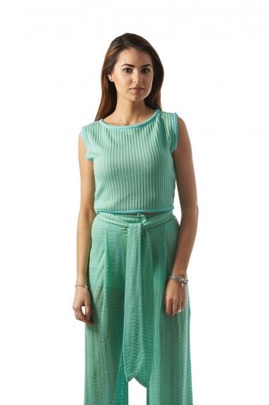 Costum Carmen Grigoriu Iva-Verde