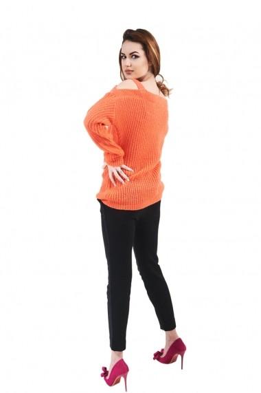 Bluza Carmen Grigoriu cu bretele semifang-Orange