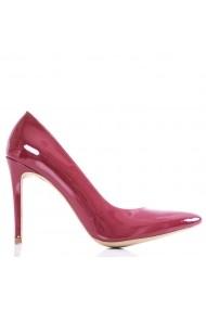Pantofi cu toc CONDUR by alexandru din piele lacuita