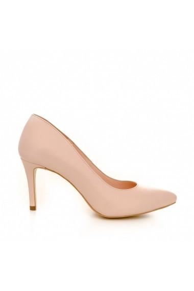 Pantofi cu toc CONDUR by alexandru 1619 roz nude