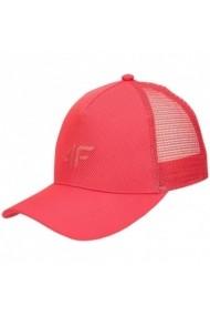 Sapca pentru barbati 4f  M H4L19-CAD003 62S czerwony